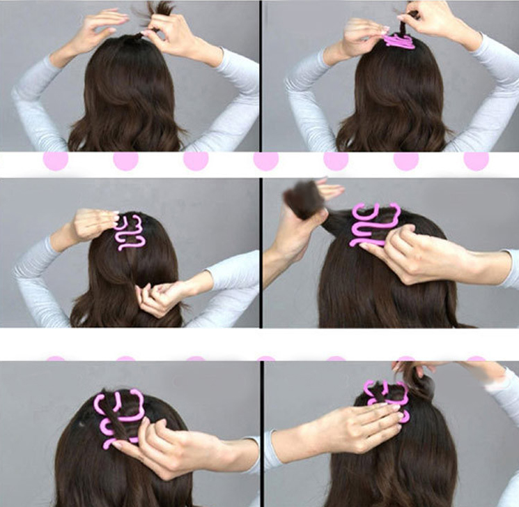Как пользоваться приспособлениями для плетения кос