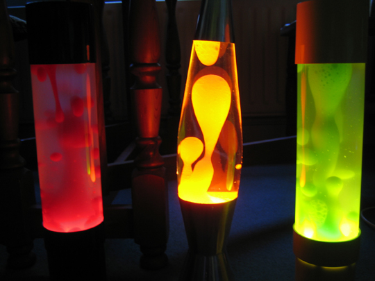 Как сделать светильник с жидкостью