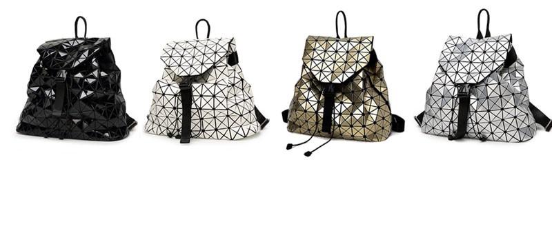 0fb93b0ff085 Женский рюкзак из металлизированной кожи или вообще «космический», с голографическим  эффектом не позволит тебе остаться незамеченной в серые зимние дни.