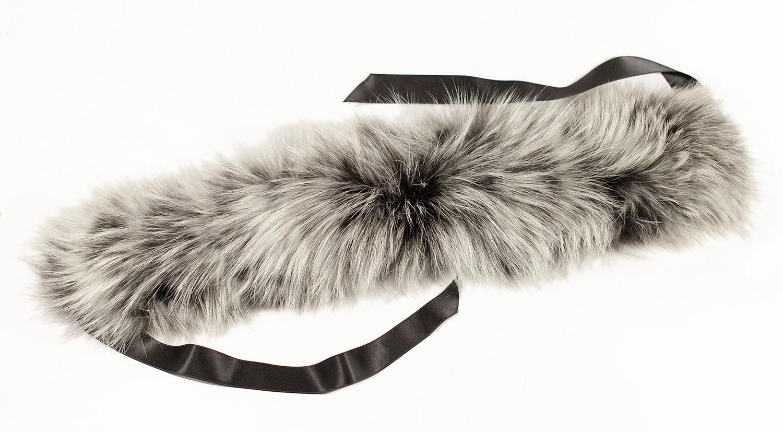 Меховой шарф (88 фото длинные и короткие модели) 71