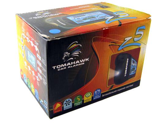 Автосигнализация Tomahawk Z5 имеет в своем арсенале все необходимые сервисные и охранные функции, что позволяет их владельцам не волноваться за сохранность своего автомобиля. Автосигнализация tomahawk z5. Купить с бесплатной доставкой по России