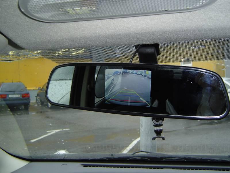 Камера заднего вида в зеркало своими руками